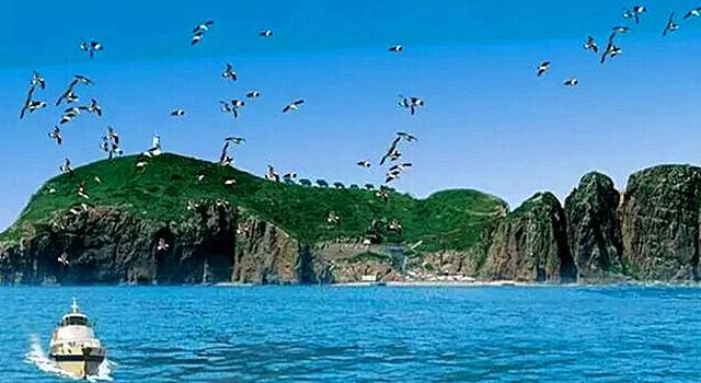 西安起始 7月2日威海,海驴岛